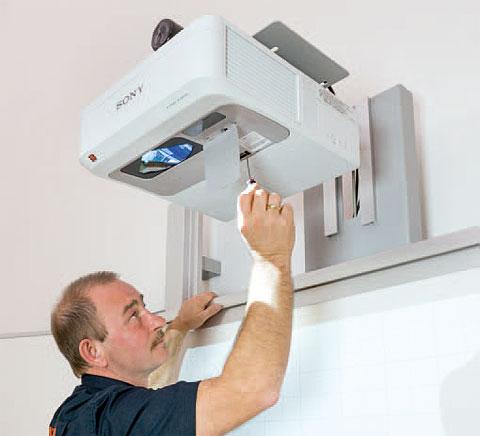 Projektor Sony für interaktive Boards